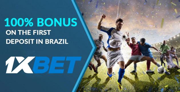 1xBet bonus Brazil